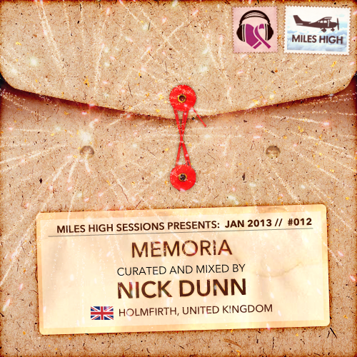 DJ Nick Dunn donates 'Memoria' Mix to Music For the Heart and Soul